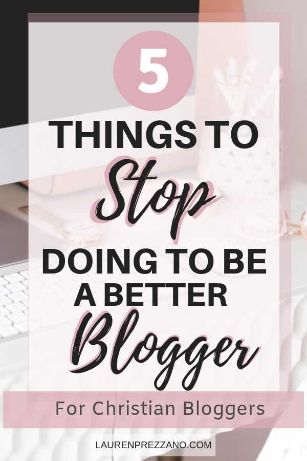 How to be a better Christian Blogger