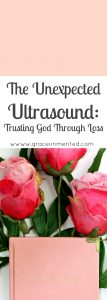 The unexpected ultrasound