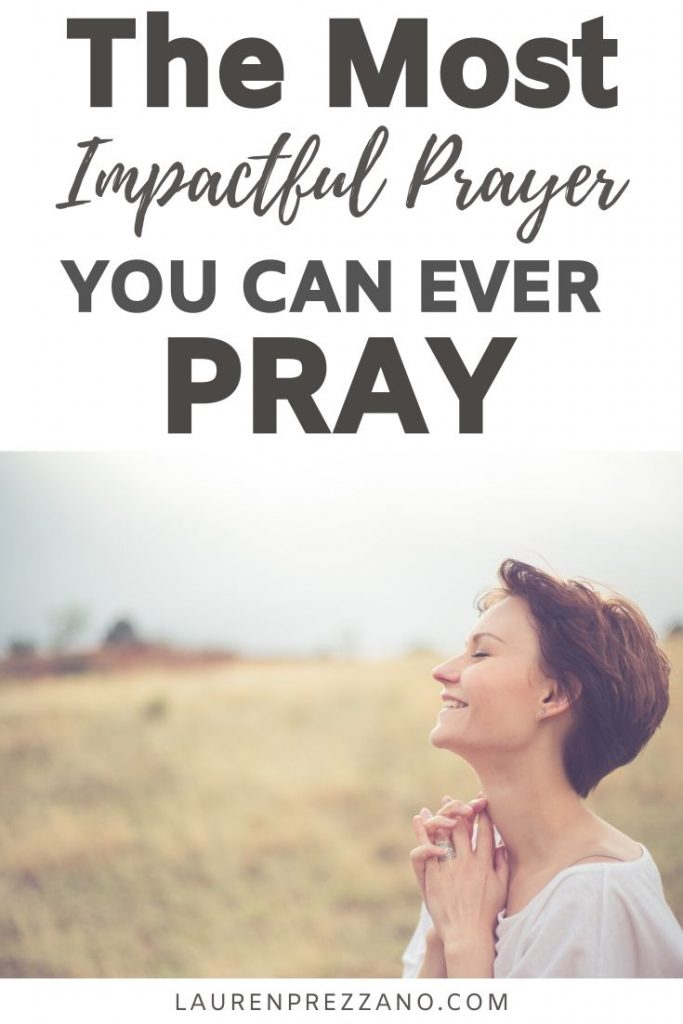 Impactful Prayer