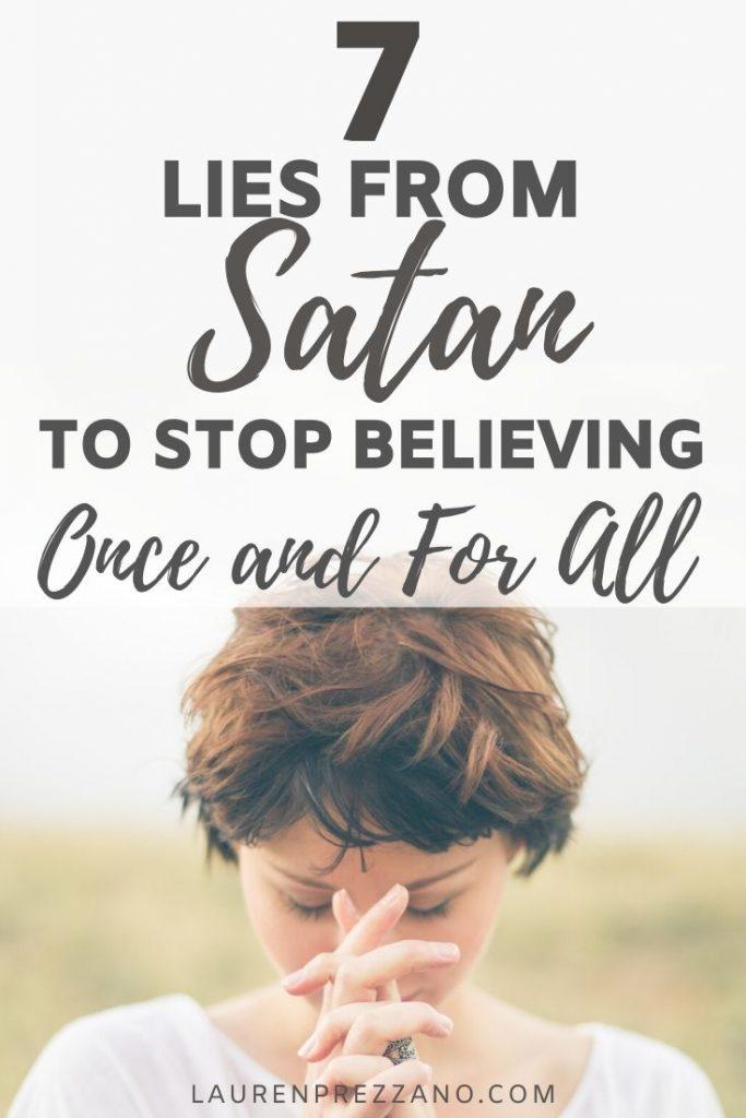 Lies from Satan
