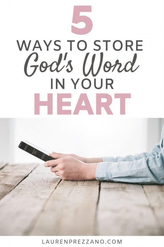 5 Ways to fill your heart with God's truth